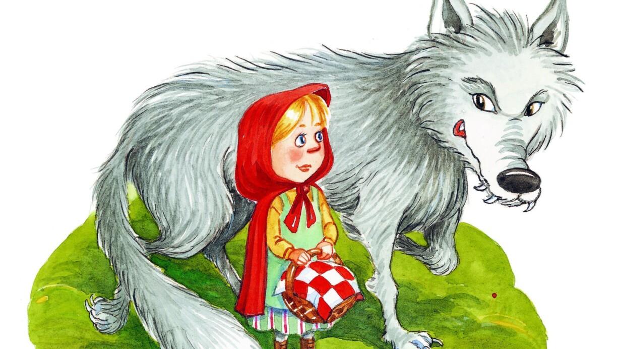 a0859f6f043f Birgitte Ahlmanns illustrationer til »Den lille Rødhætte« og de øvrige  eventyr i »Brødrene Grimm - Klassiske eventyr« er sigende for den  nutte-ficering