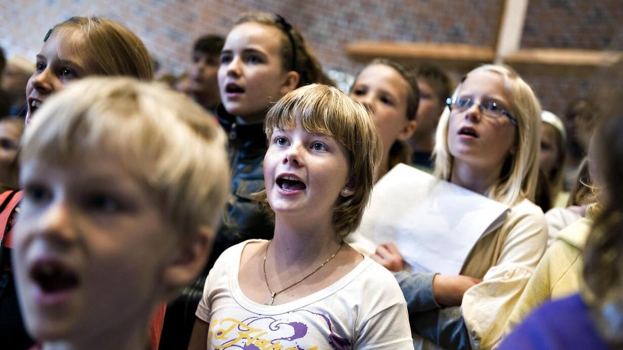 Nu må du også synge Kim Larsen og Anne Linnet i kirken