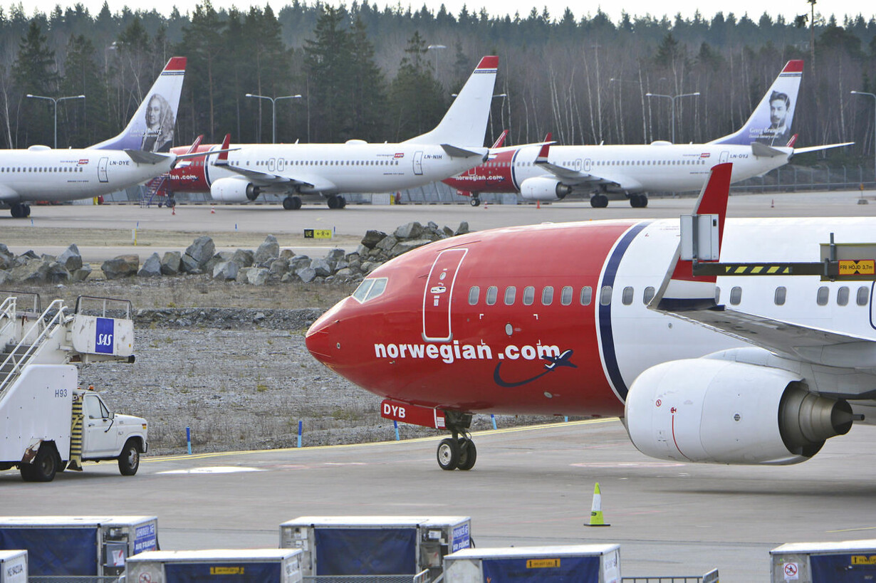 pris bagage norwegian