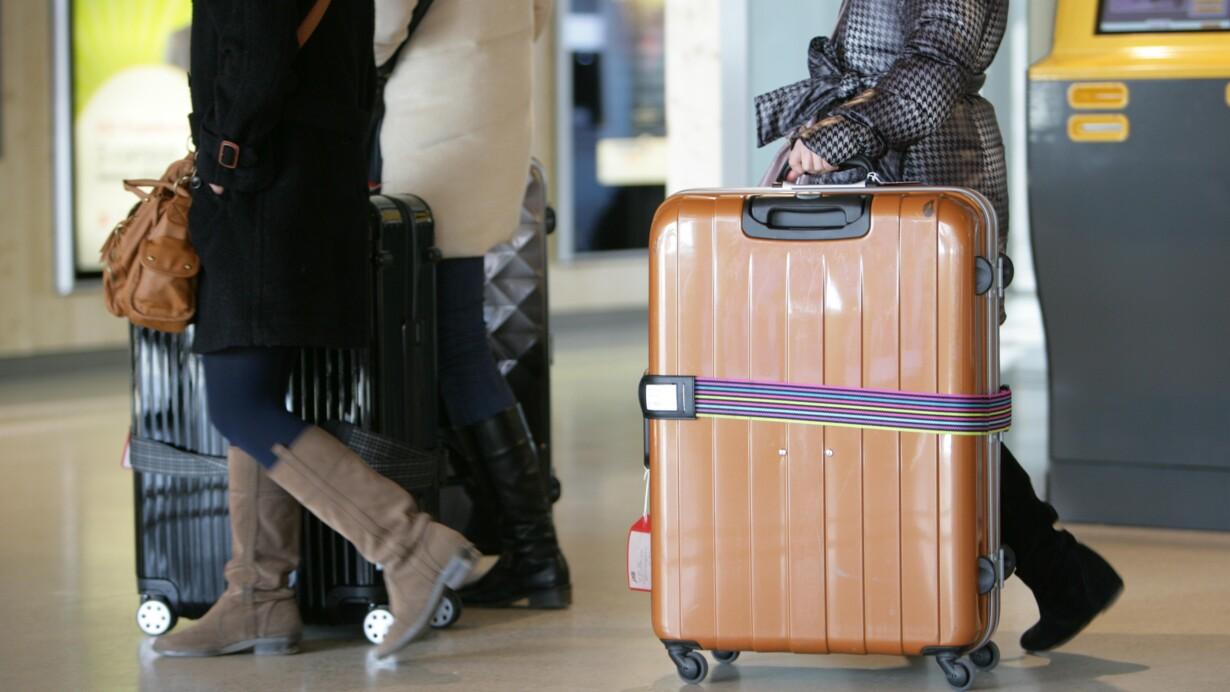 norwegian kuffert størrelse