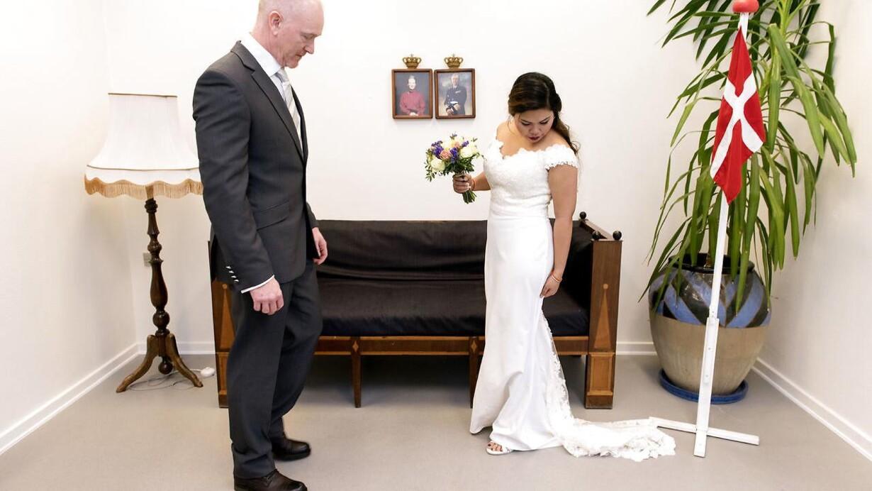 At blive gift med en udlænding