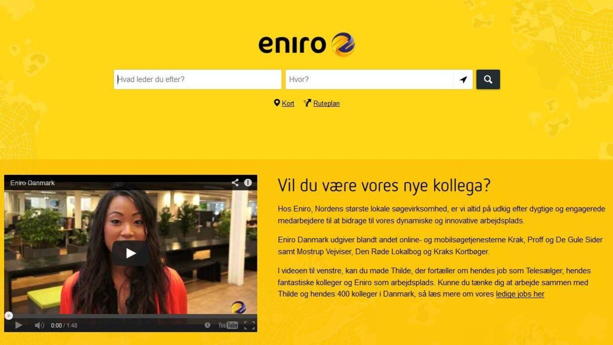 Eniro Skal Fyre I Danmark