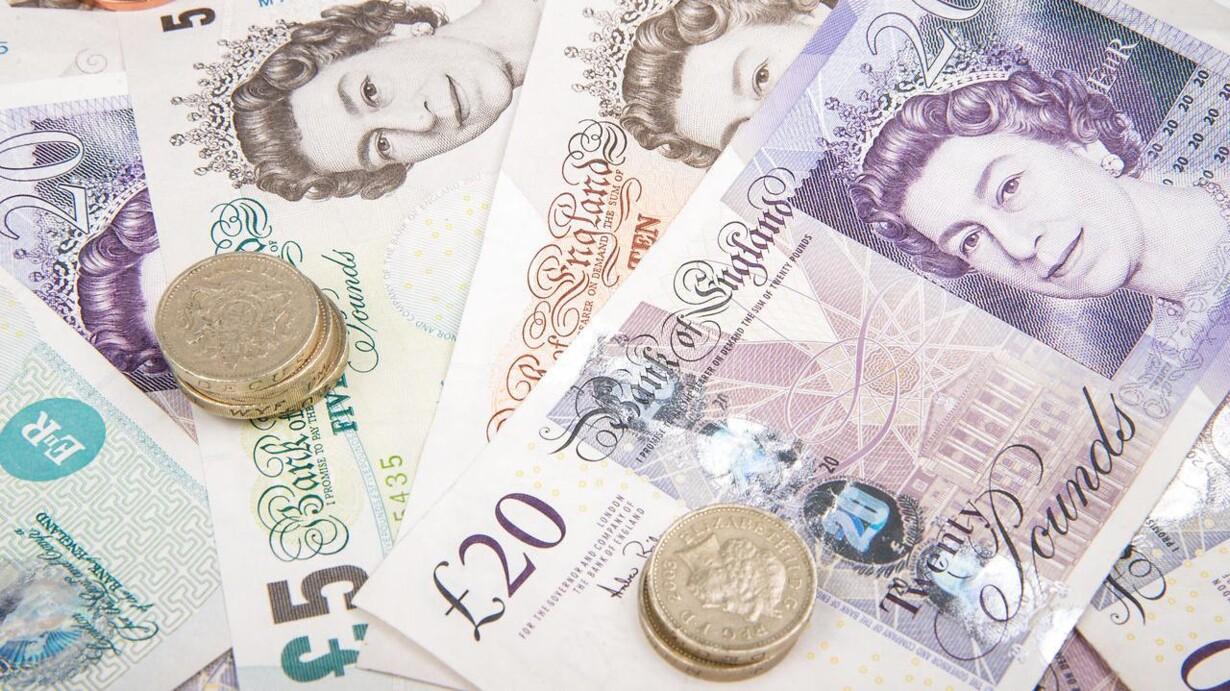 valuta britiske pund