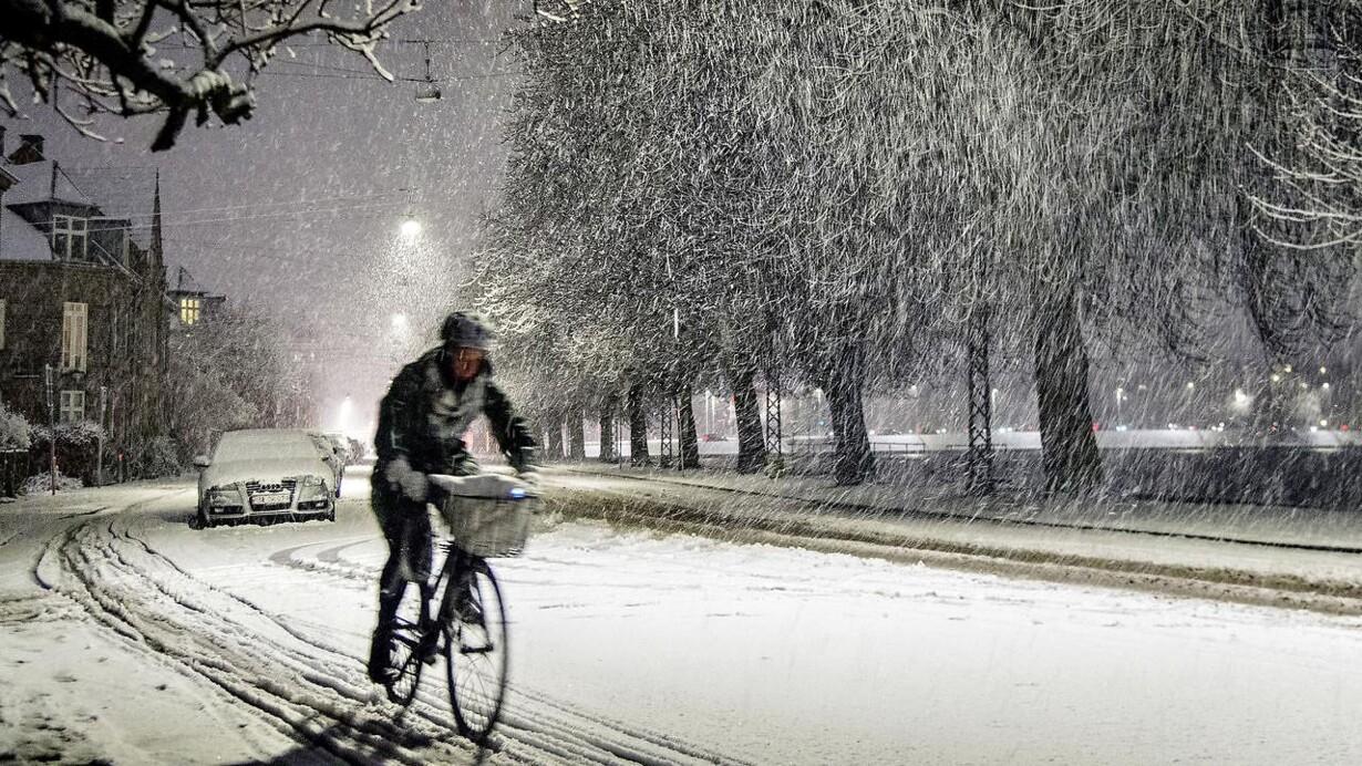 danmark sne