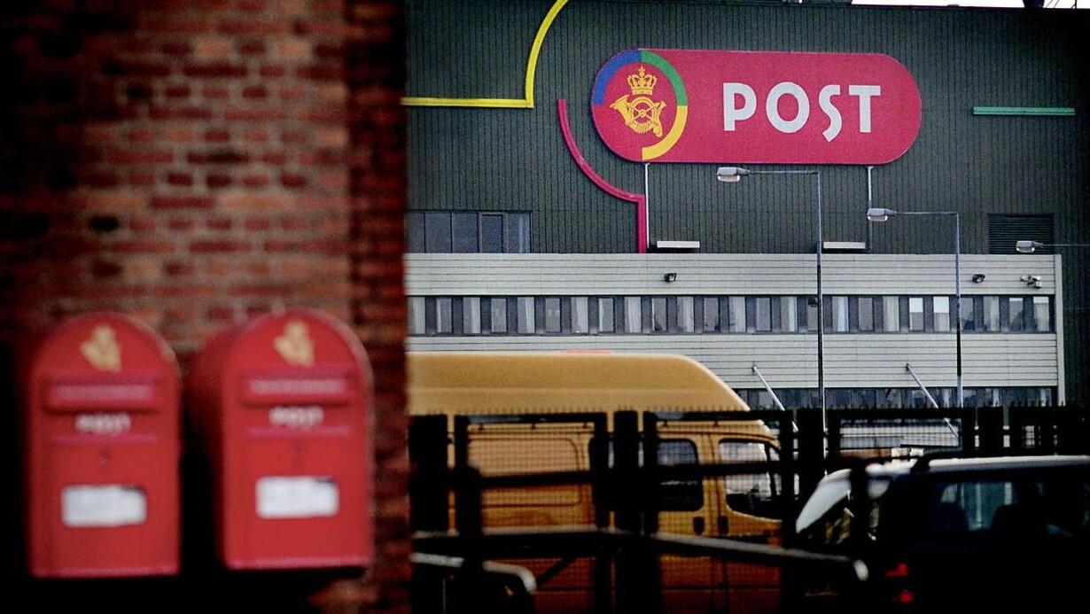 post danmark københavn