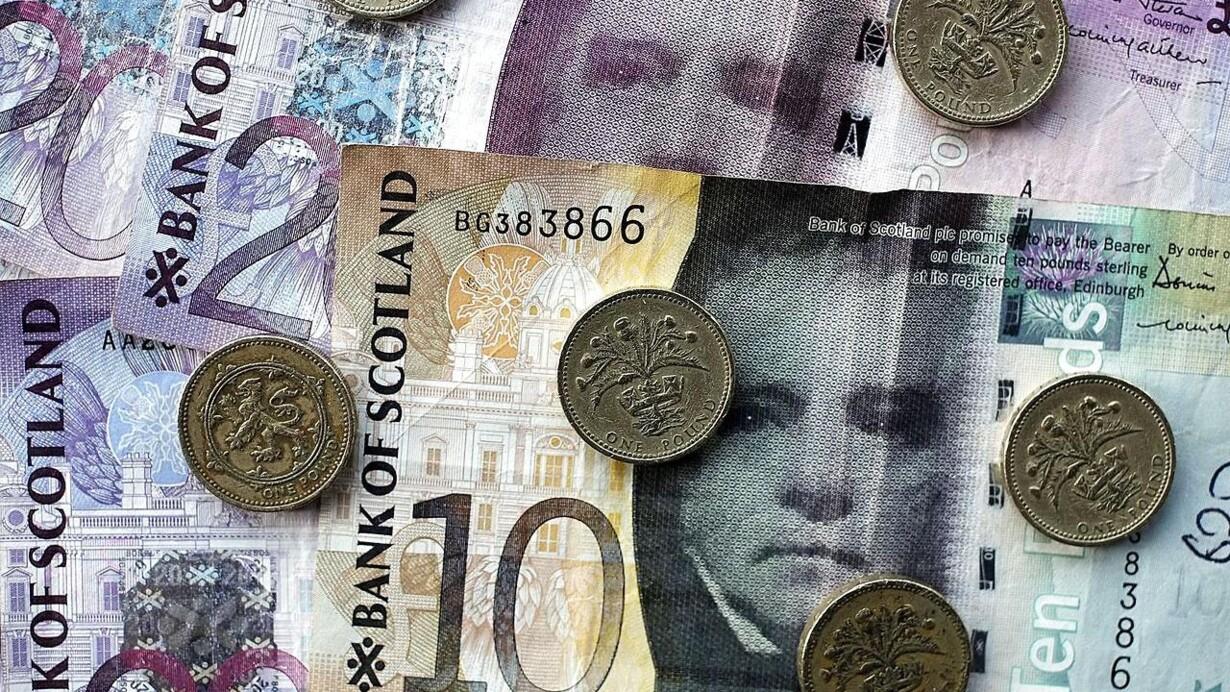 engelske pund i norske kroner