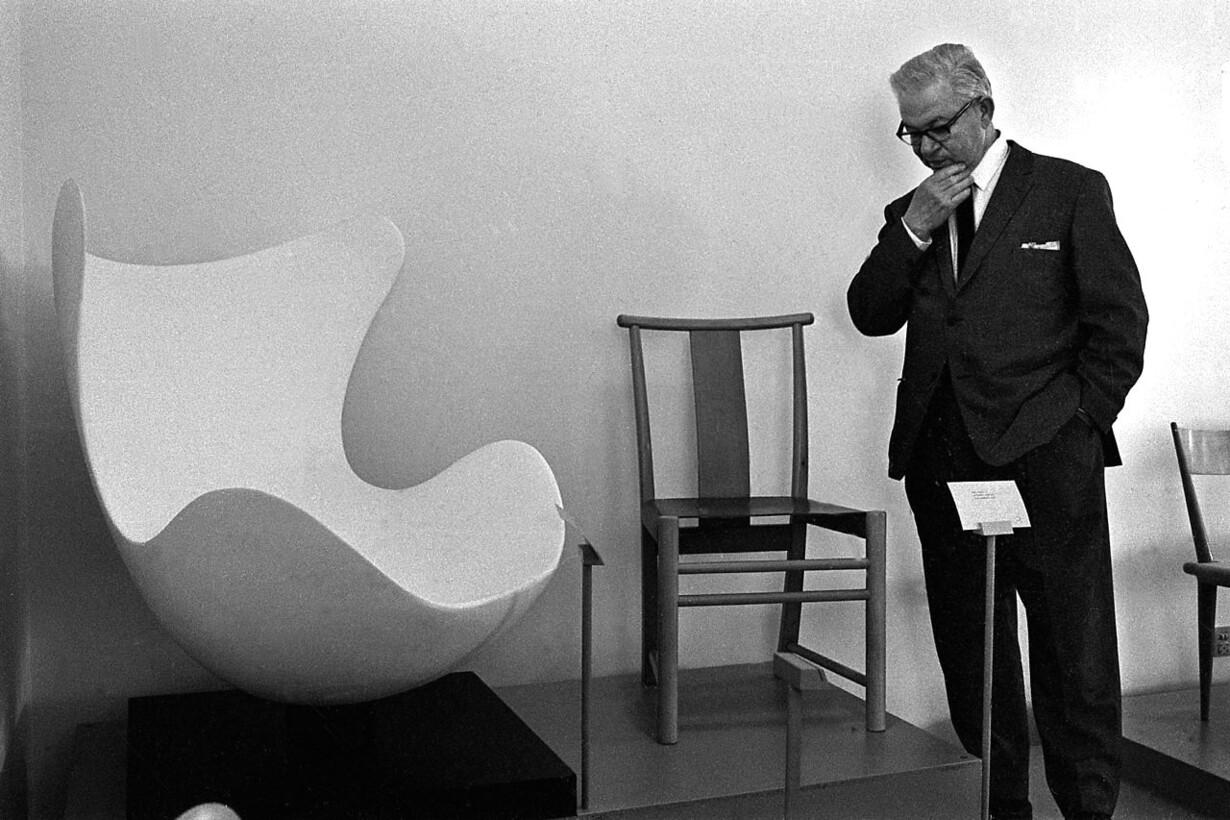 Arne Jacobsen Stoel : Du må vente 29 år på en lovlig »Ægget« kopi