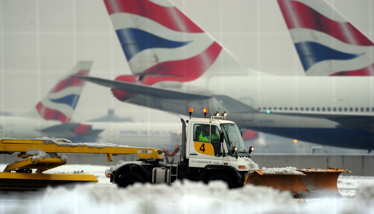 9aaff2e5d64 Snegebyr truer billige London-rejser