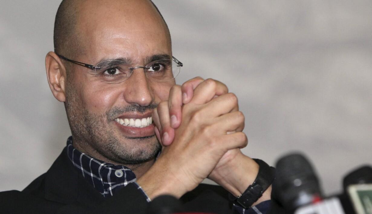Gaddafis Søn Føler Sig Sikker På Sejr