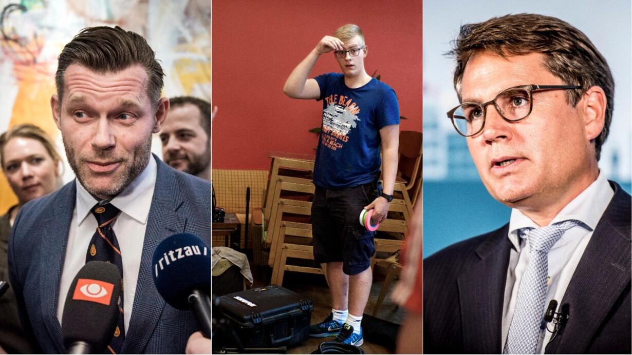 7ab04ac79741 Jakob Kristian Borg (i midten) har fået nej af Statsforlvantingen til at  drive egen virksomhed med lydteknik