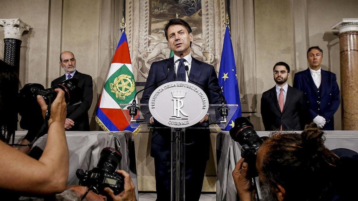 Klart med ny regering i italien