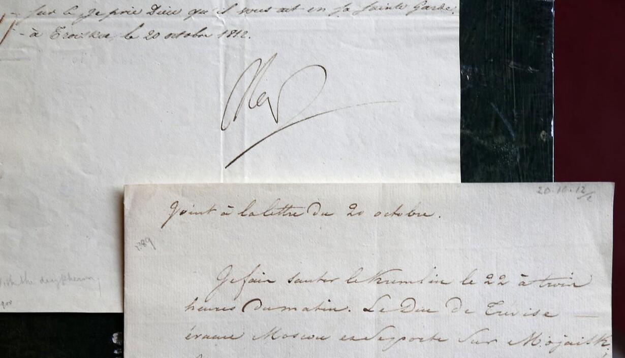 d1e7c7fb09b Desperat Napoleon-brev solgt på auktion