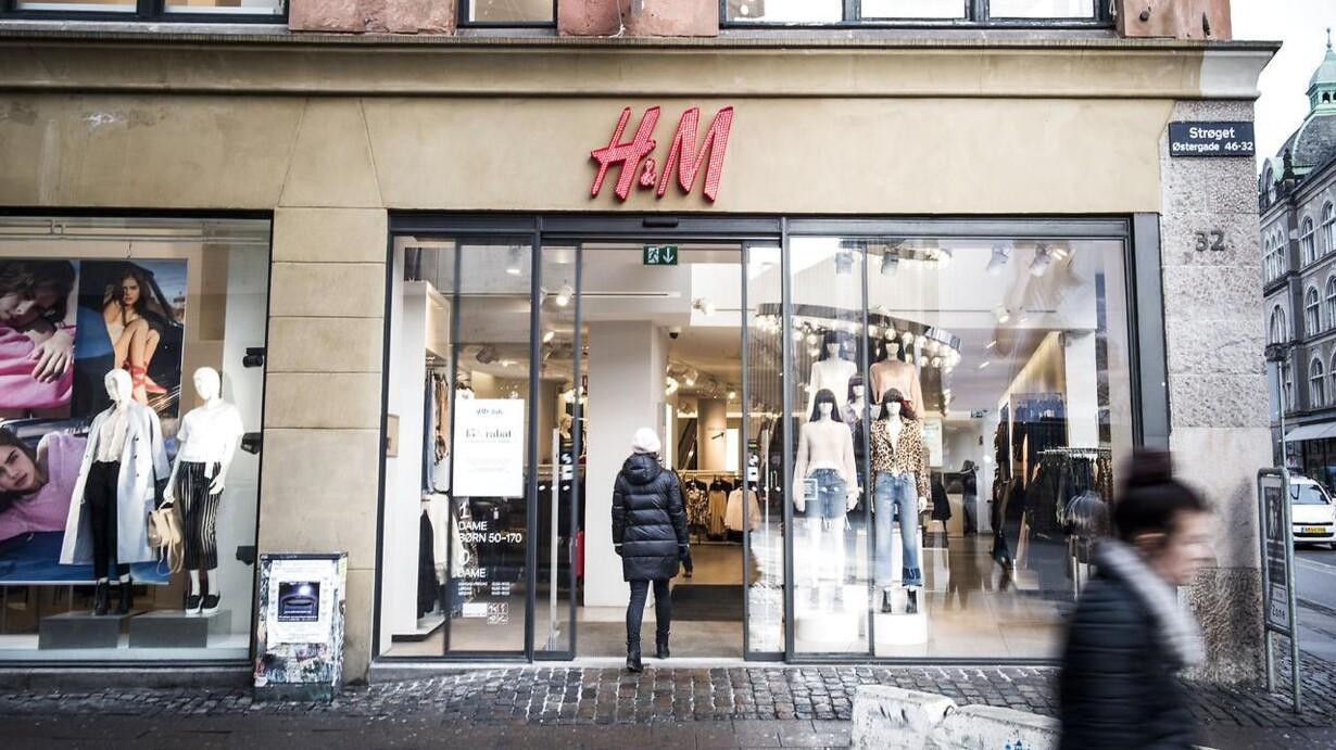 København Udset Som Spydspids For Spritnyt Hm Brand