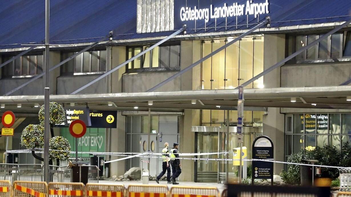 Svenske Medier Mand Anholdt Ved Lufthavn I Goteborg Med