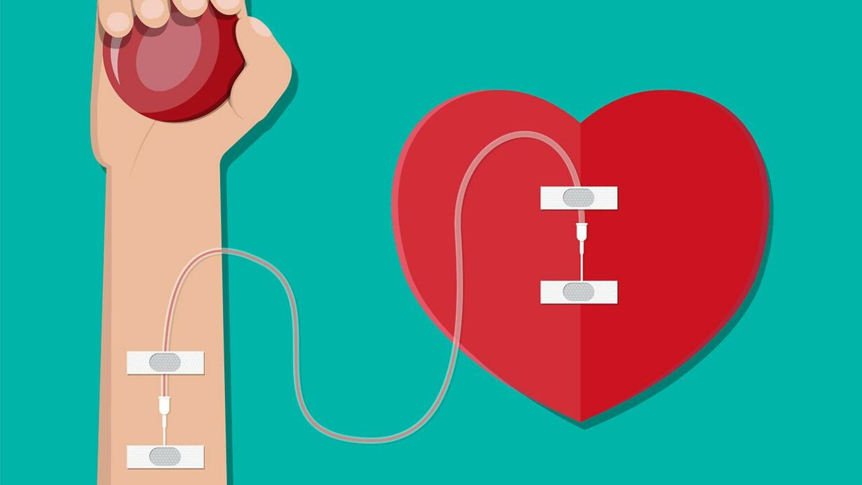 bloddonor penge