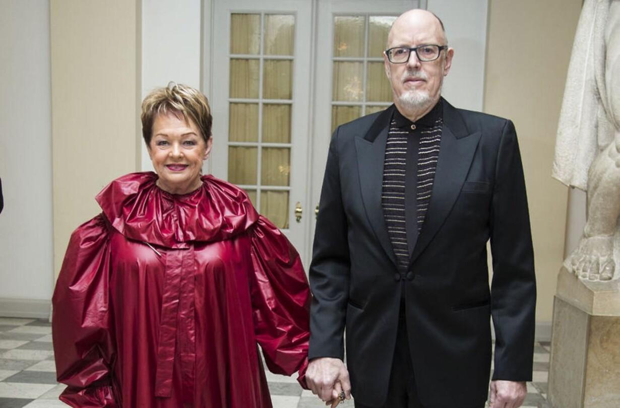 ghita nørby rød kjole
