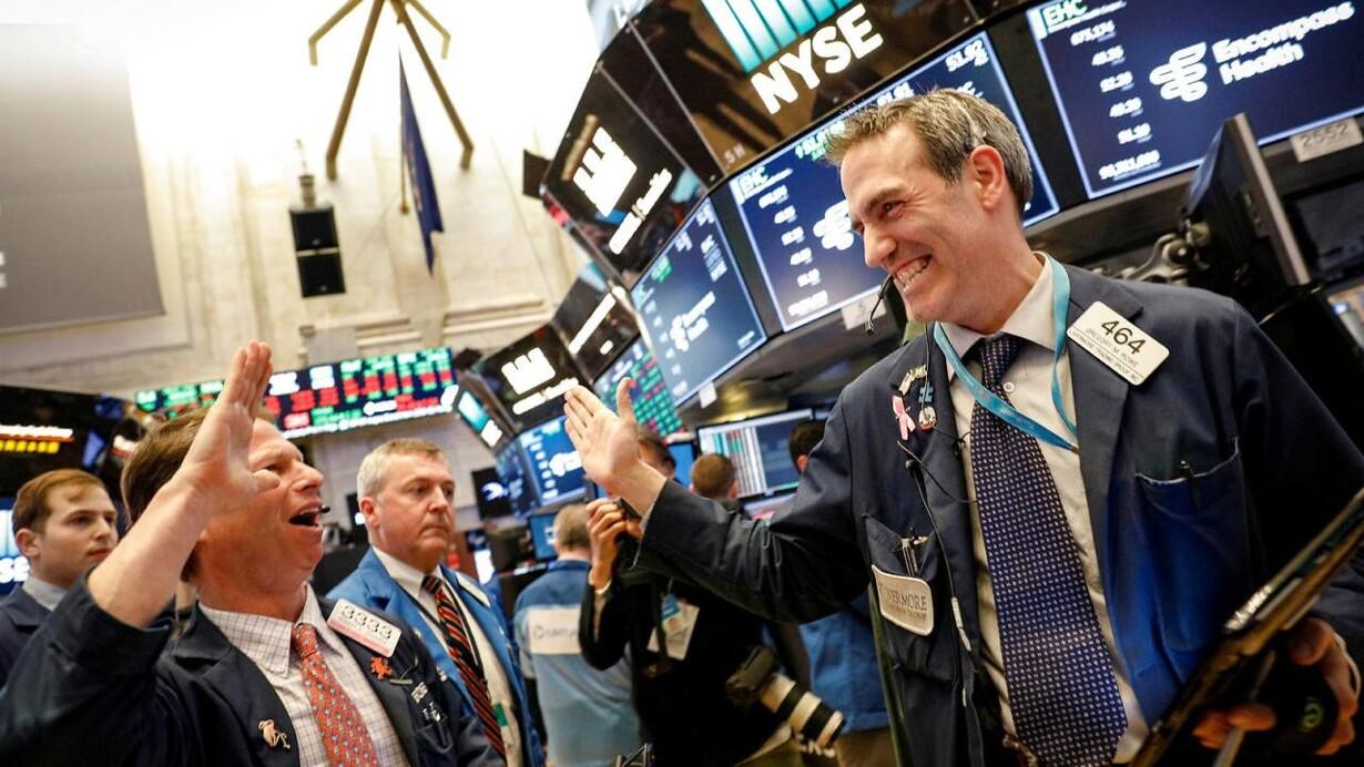 2e71852308f Bomstærke USA-regnskaber dæmper frygt for ny tumult på aktiemarkedet