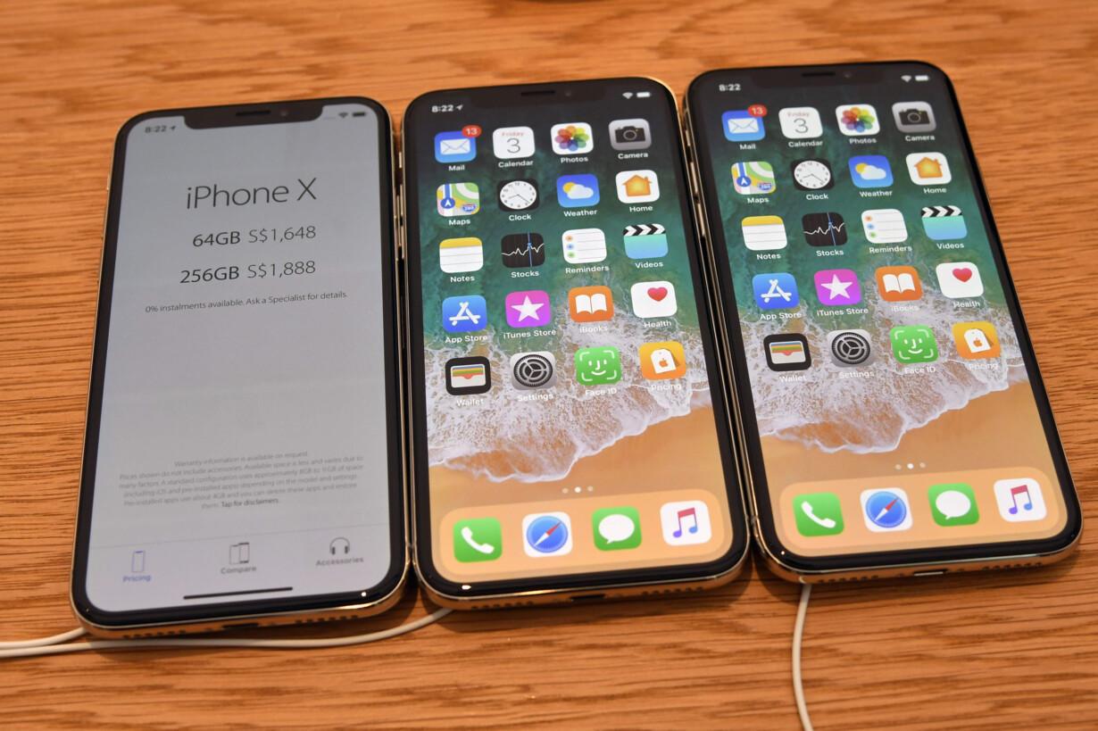 ce81b24dd06 IPhone X blev lanceret i 2017 og vil sandsynligvis blive billigere at købe  brugt, efter at Apple nu har præsenteret en ny iPhone XS, iPhone XS Max og  iPhone ...