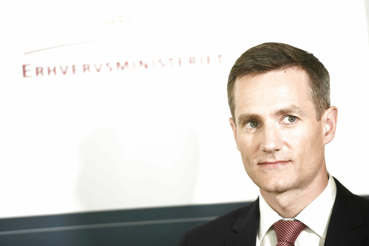 Ny erhvervsminister