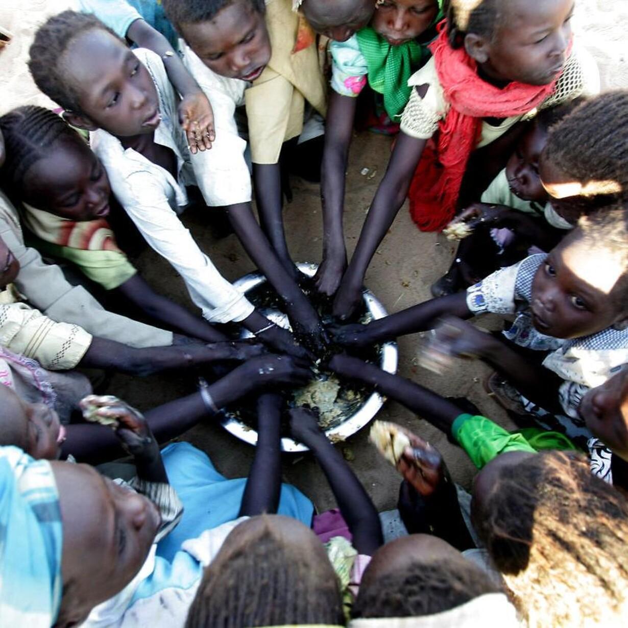 SUDAN-DARFUR-REFUGEES-WORLD-FOOD-DAY