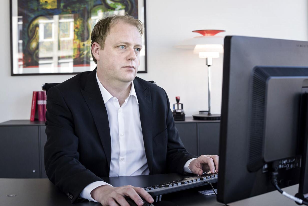 Bagmandspolitiet beskyldes for læk i bestikkelsessag Morten Nie
