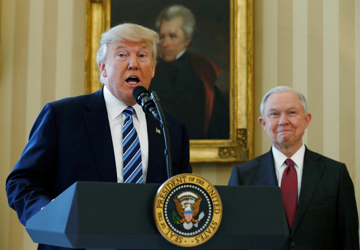USA-TRUMP/SESSIONS