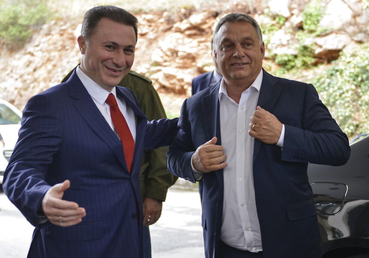 (FILE) FYROM HUNGARY JUSTICE GRUEVSKI