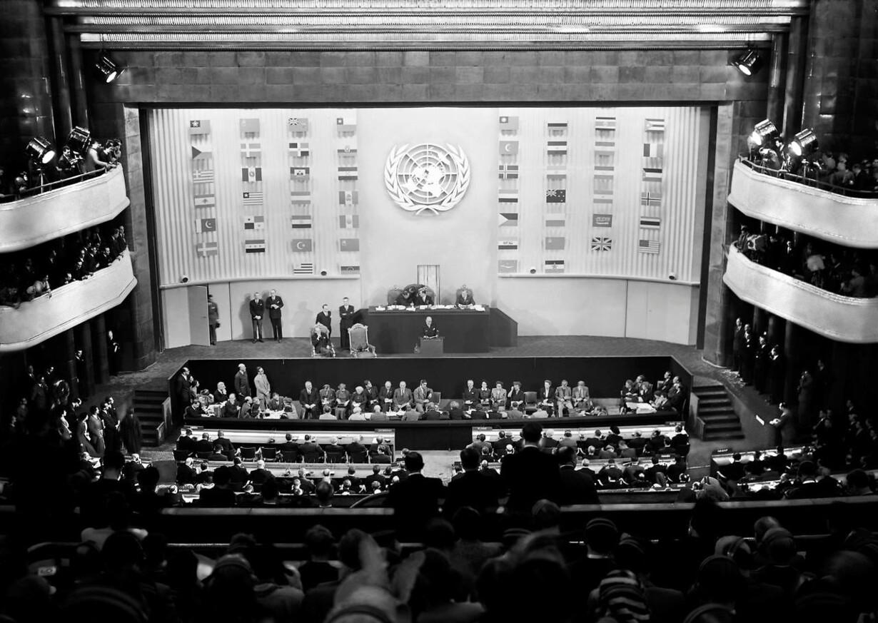 FILES-FRANCE-UN-ANNIVERSARY-RIGHTS-TREATY-HISTORY