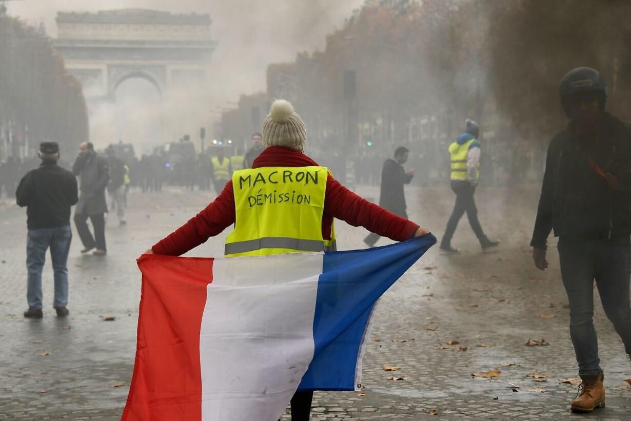 De gule veste vil lamme hjertet af Paris