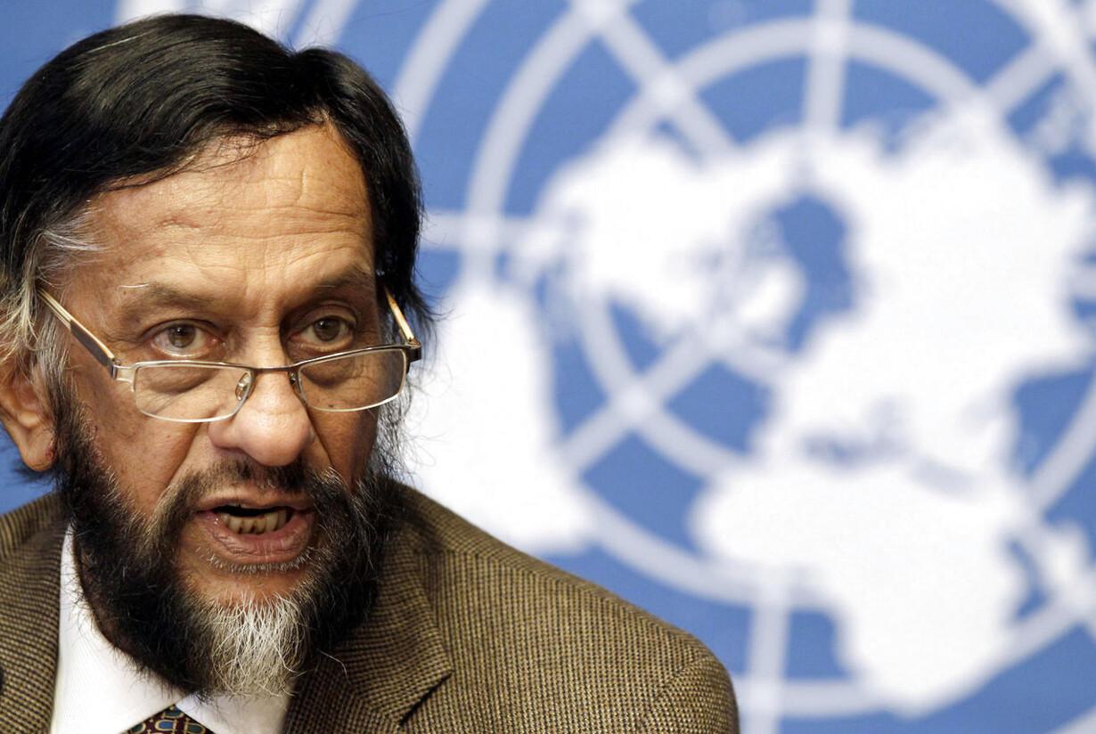 Rajendra Pachauri, Chair of the Intergovernmental Panel on Clima
