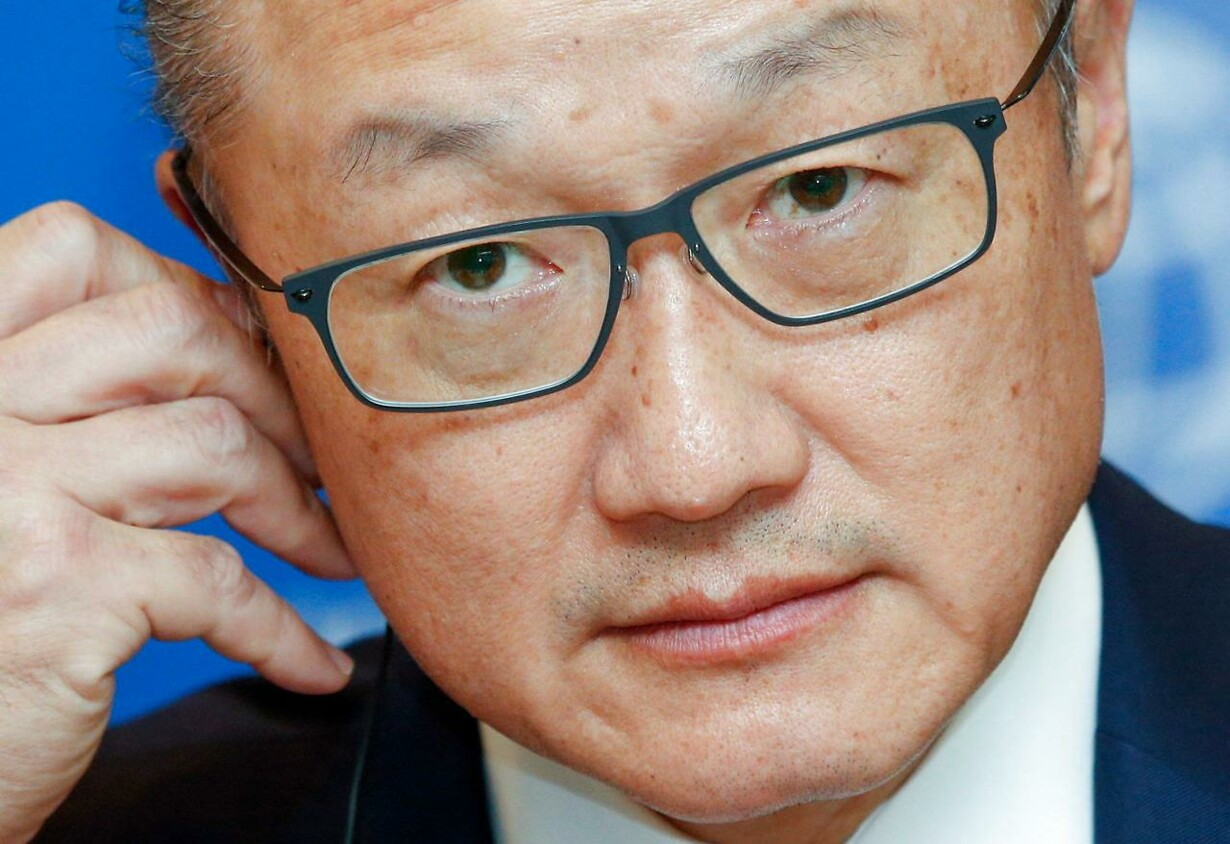 (FILE) UKRAINE WORLD BANK JIM YONG KIM