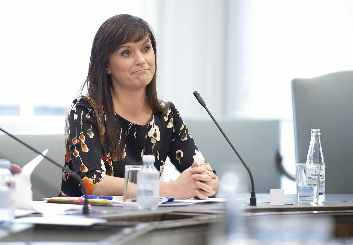 Sophie Løhjde samråd Danske Bank
