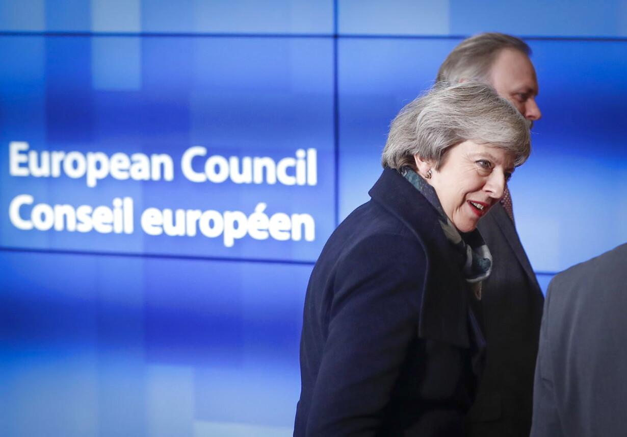 BELGIUM BRITAIN EU DIPLOMACY BREXIT