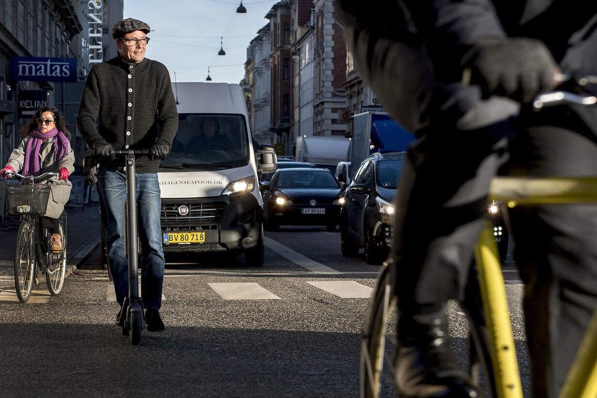 Berlingske tester el-løbehjul