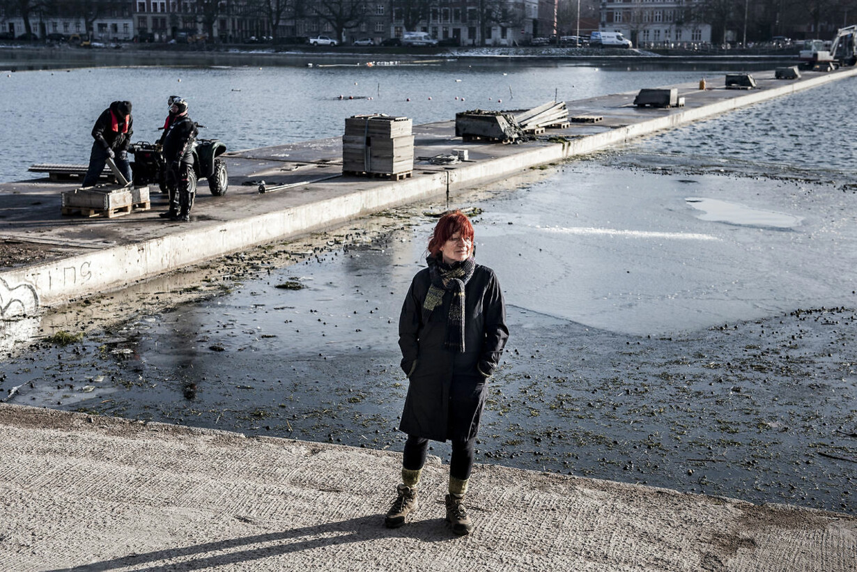 Broen over Sortedams Sø forsvinder