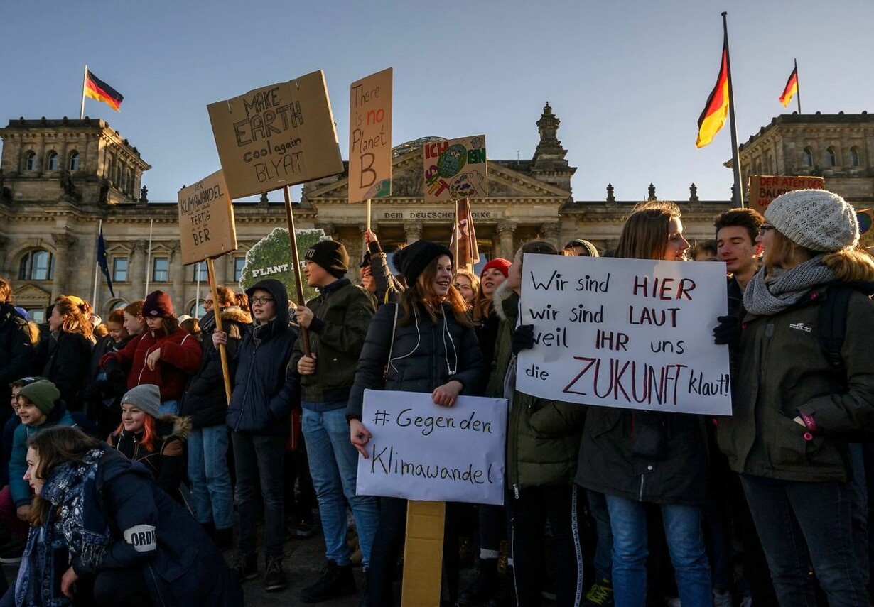 GERMANY-POLITICS-CLIMATE-STRIKE