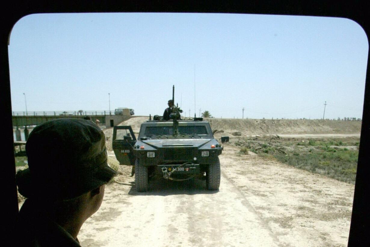 Danske tropper i  Qurna / Irak
