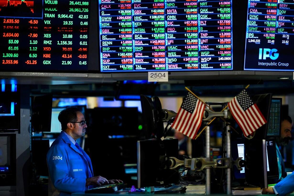 US-STOCK-MARKETS-CLOSE