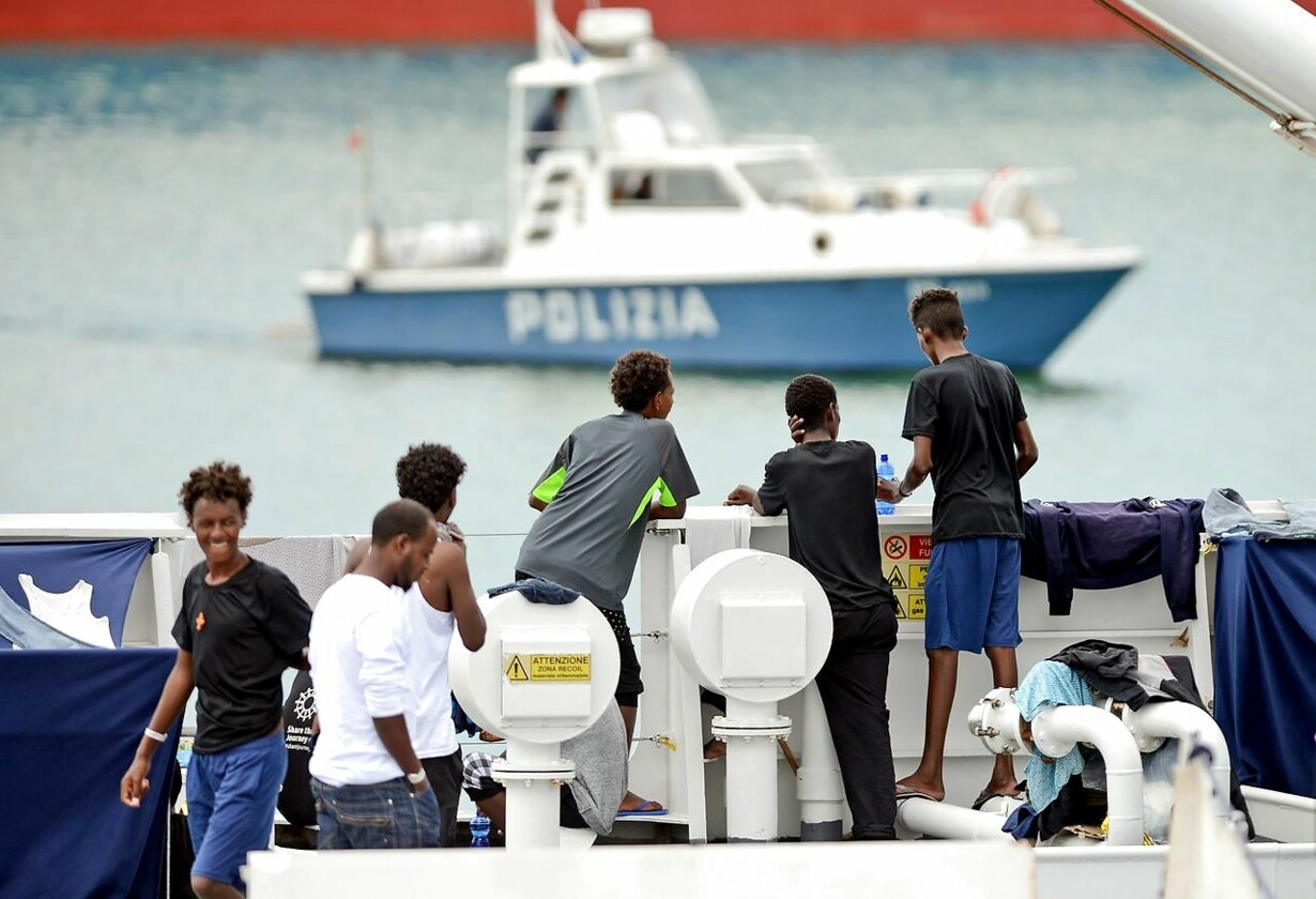 ITALY-EUROPE-POLITICS-RIGHTS-MIGRATION-DICIOTTI