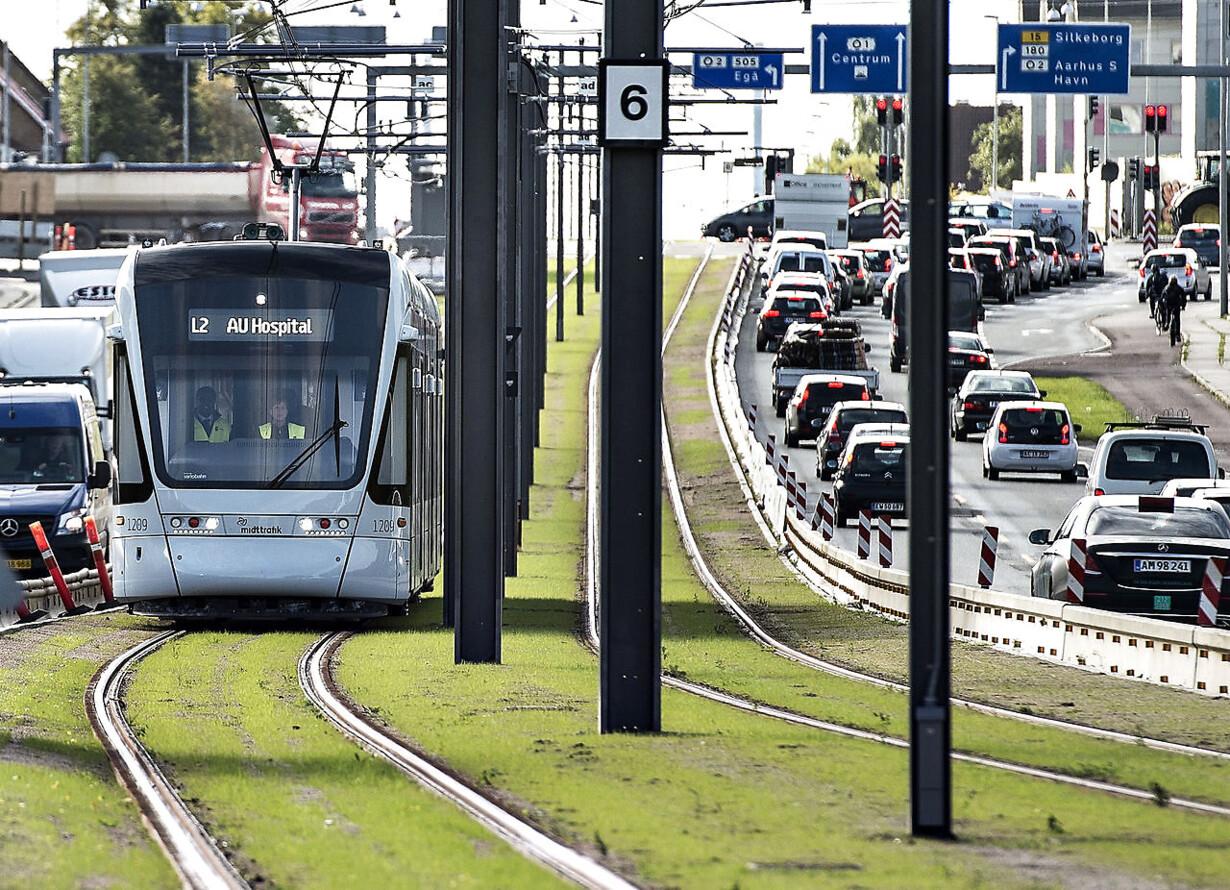 Styrelse aflyser åbning af Aarhus Letbane i sidste øjeblik