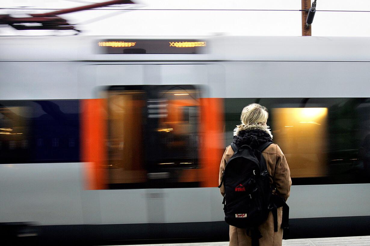 Terrortiltalt kom med toget ti