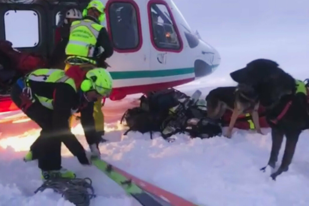 ITALY-AIR-TRANSPORT-ACCIDENT -
