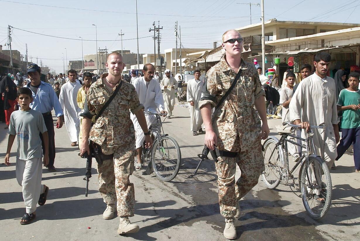 Danske styrker i Irak