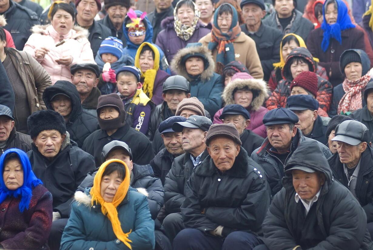 CHINA AGING POPULATION ECONOMY