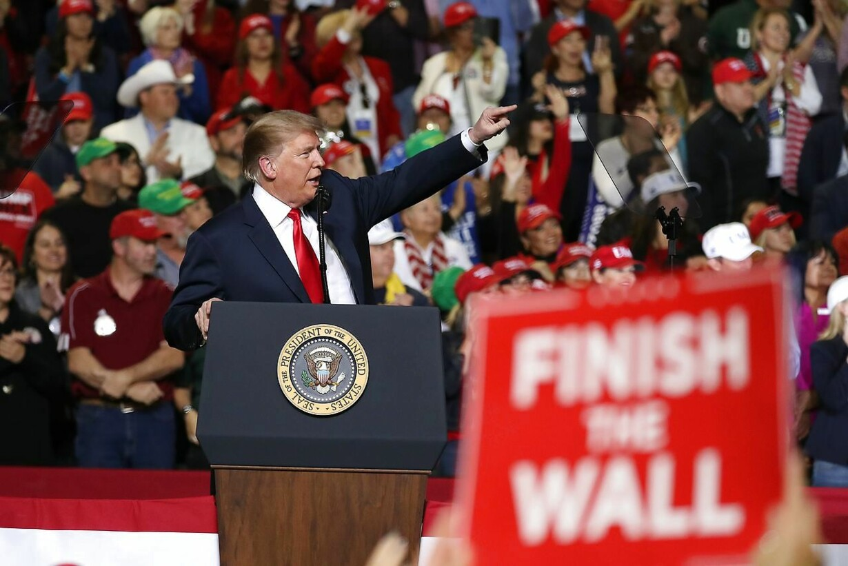 US-DONALD-TRUMP-HOLDS-MAGA-RALLY-IN-EL-PASO-TO-DISCUSS-BORDER-SE