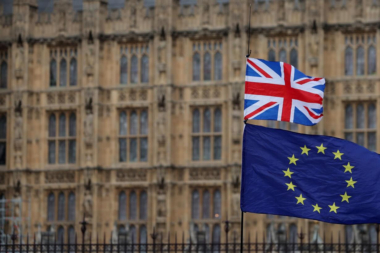 BRITAIN-POLITICS-EU-BREXIT - 2