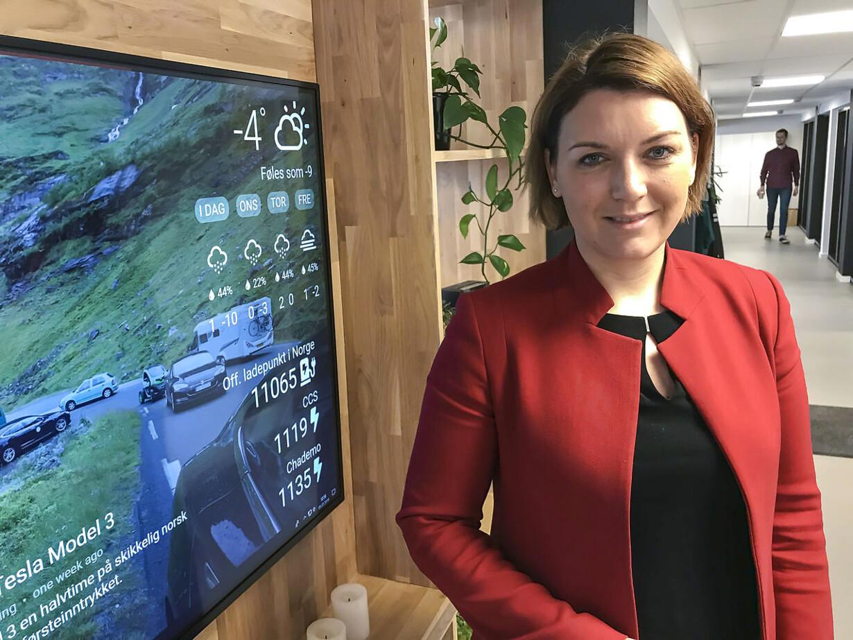 Christina Bu, generalsekretær for Norsk elbilforening