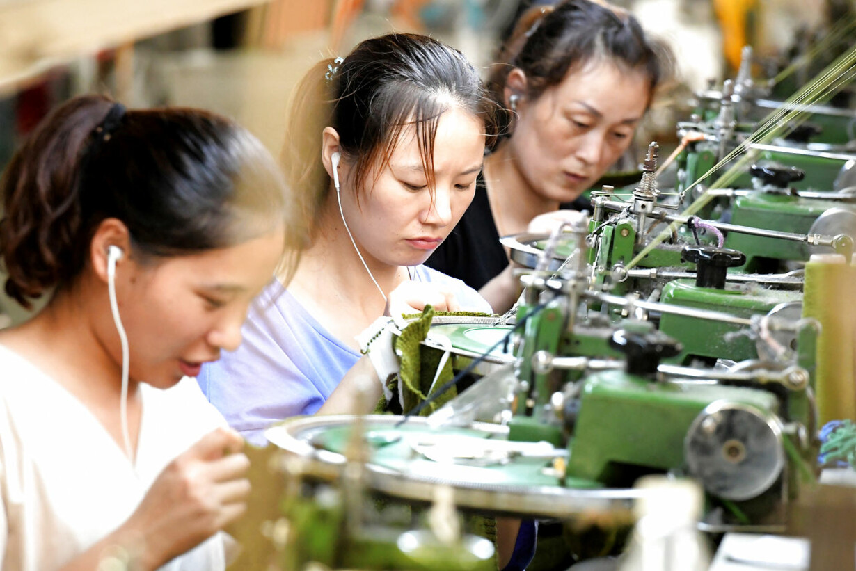 CHINA-ECONOMY-INDUSTRY