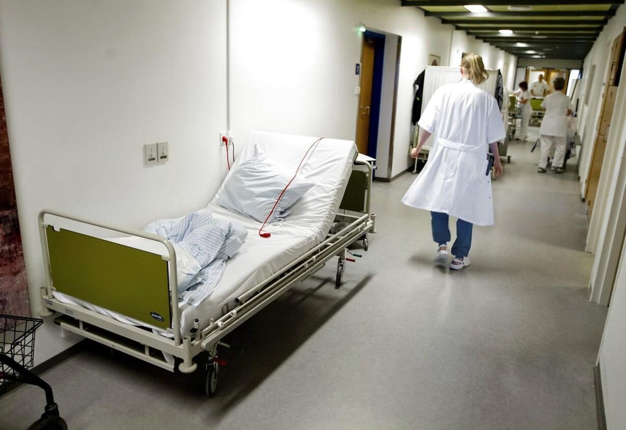 Flere ældre presser sygehuse