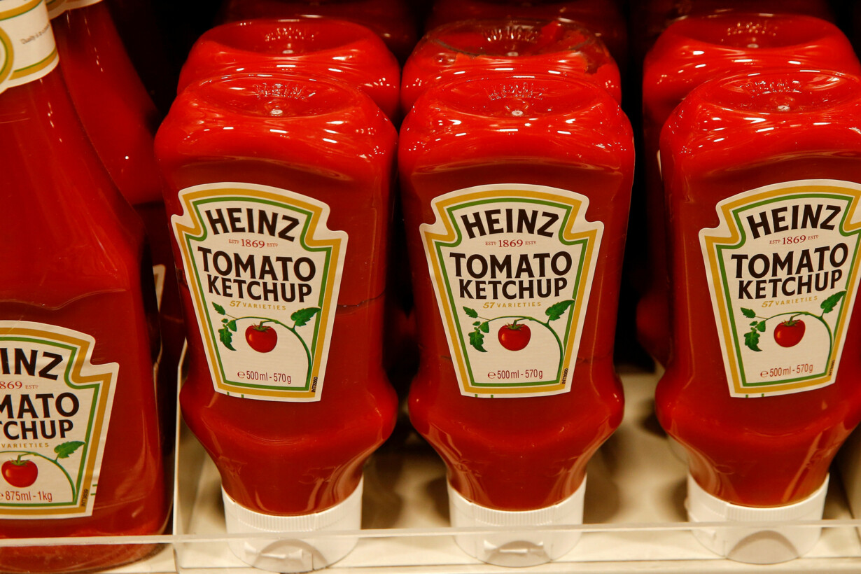FILE PHOTO - Bottles of Heinz